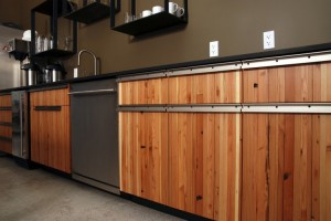 Reclaimed Wood Awesome Kitchen Cabinets