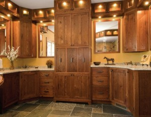 Reclaimed Wood Kitchen Cabinets Design