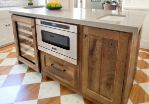 Reclaimed Wood Kitchen Cabinets Project