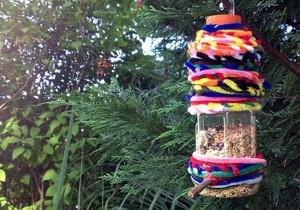 Recycle Bird Feeder