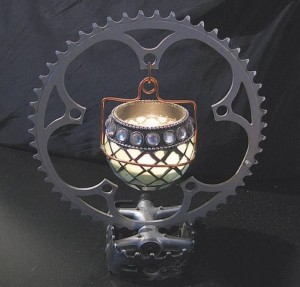 Recycled Automotive Parts Lamp