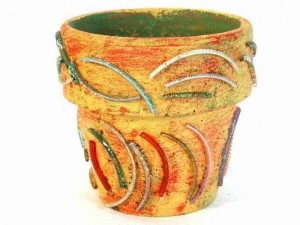 Recycled Bangles Art
