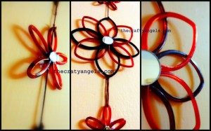 Recycled Bangles Flower