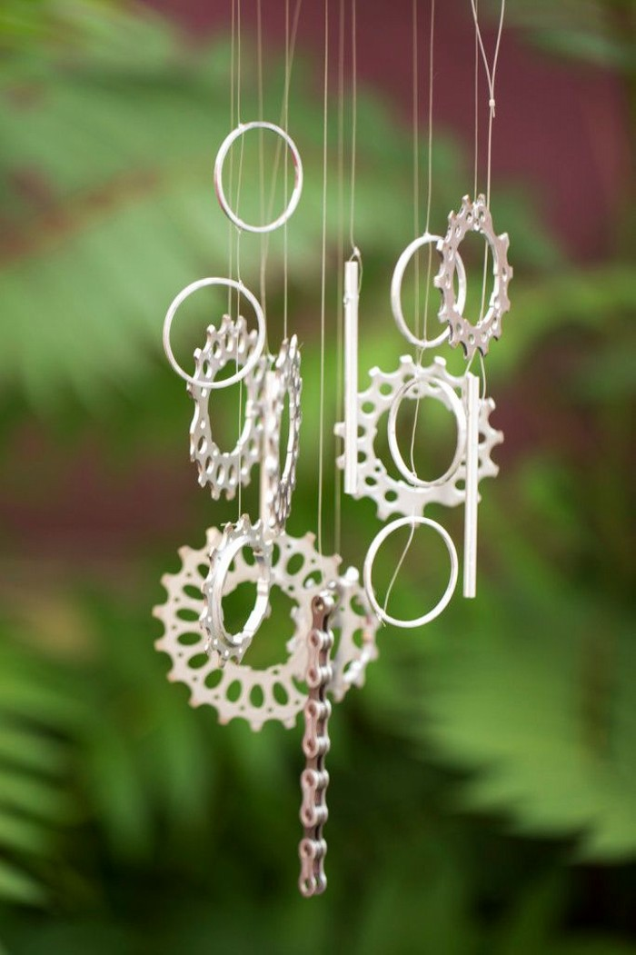 Recycled Bike Parts Wind Chime