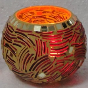 Recycled Broken Bangles Art