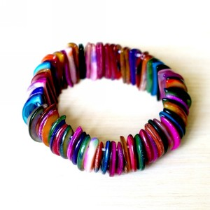 Recycled Buttons Bracelet