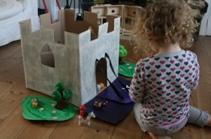 Recycled Cardboard Kids Toy