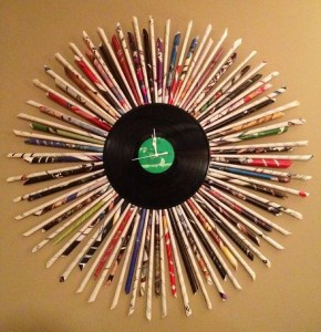 Recycled Paper Clock