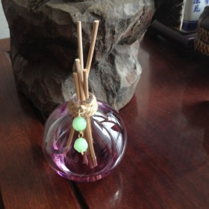 Recycled Perfume Bottles Decoration Piece