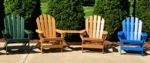 Recycled Plastic Furniture Outdoor Chairs