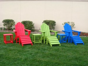 Recycled Plastic Sunset Chairs