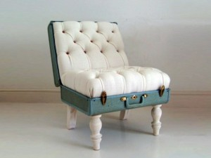 Recycled Suitcase Chair