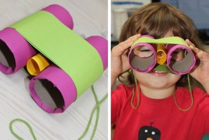 Recycled Toilet Paper Roll Kid Crafts