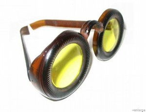 Recycled Wine Bottle Bottom Goggles