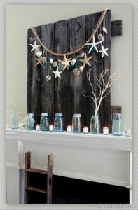Recycled Wood Pallet for Wall Decor
