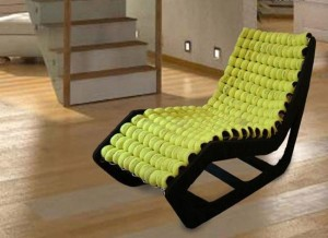 Recycling Tennis Balls Unique Furniture Chairs