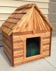 Cute Pallet Dog House