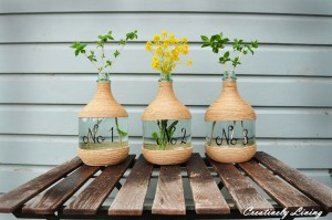 DIY Flower Vase Idea
