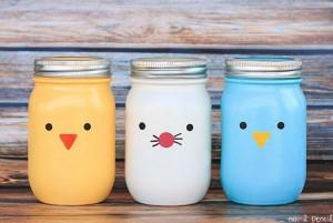 DIY Mason Jars Decor Craft