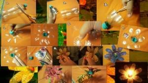 DIY Recycled Plastic Bottle Flower