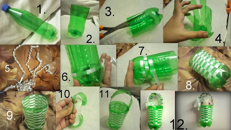 DIY Recycling Plastic Bottle for Decor