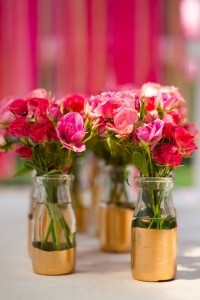 Dipped Flower Vases