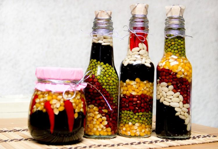 Glass Bottles Decor Ideas
