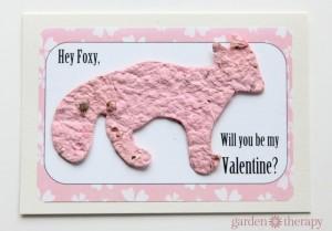 Handmade Valentines Day Card Idea