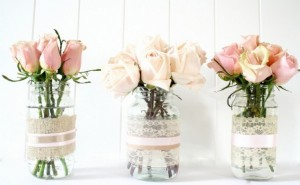 Mason Jars Flower Vase