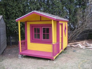 Pallet Colorful Playhouse for Kids