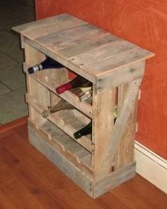 Pallet DIY Wine Rack