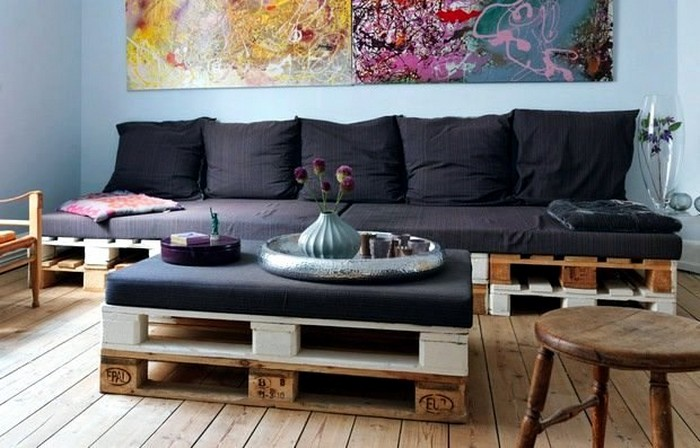 Pallet Furniture for Living Room
