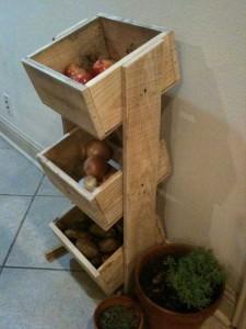 Pallet Kitchen Storage