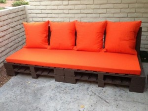 Pallet Wood Couch