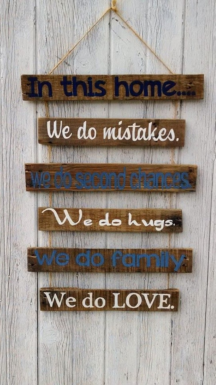 Pallet Wooden Sign Board
