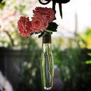 Recycled Blub Vase