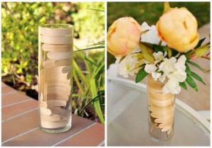 Recycled Flower Vase