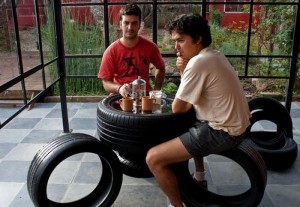Recycled Tires Furniture