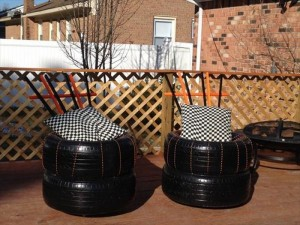 Recycled Tires Sofa