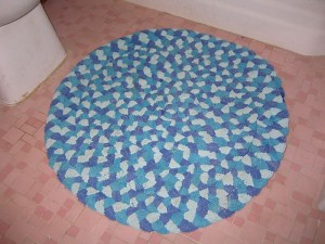 Recycled Towels Rug