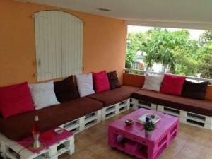 Wooden Pallet Furniture for Living Room
