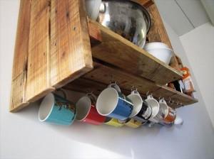 Wooden Pallet Kitchen Cabinet