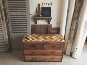 Wooden Pallet Nightstand