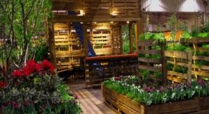 Wooden Pallets Gardening Idea