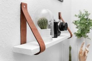 Belt Wall Shelf