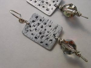 DIY Upcycled Earrings