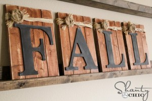 Pallet Home Decorating