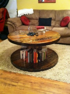 Pallet Round Coffee Table