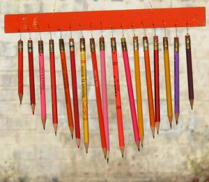 Pencils Wind Chime