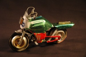 Recycled Aluminum Can Toy Bike